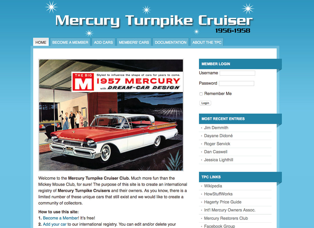 Mercury Turnpike Cruiser