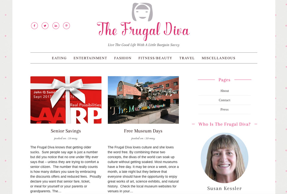The Frugal Diva