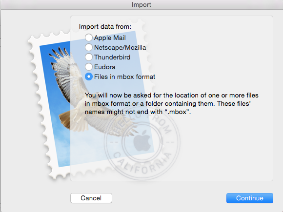 Move Mailboxes from Thunderbird to Apple Mail - Moss Web Works