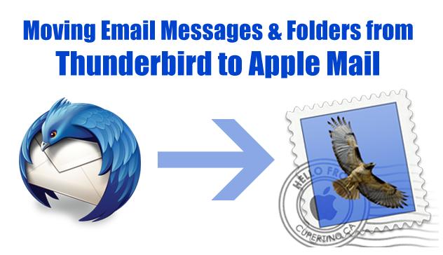 Thunderbird to Apple Mail